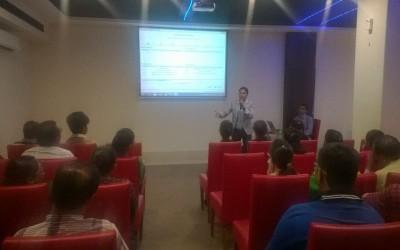 InfoCity Sabarmati Chandkheda Parents Seminar at Tune Hotel April 2016